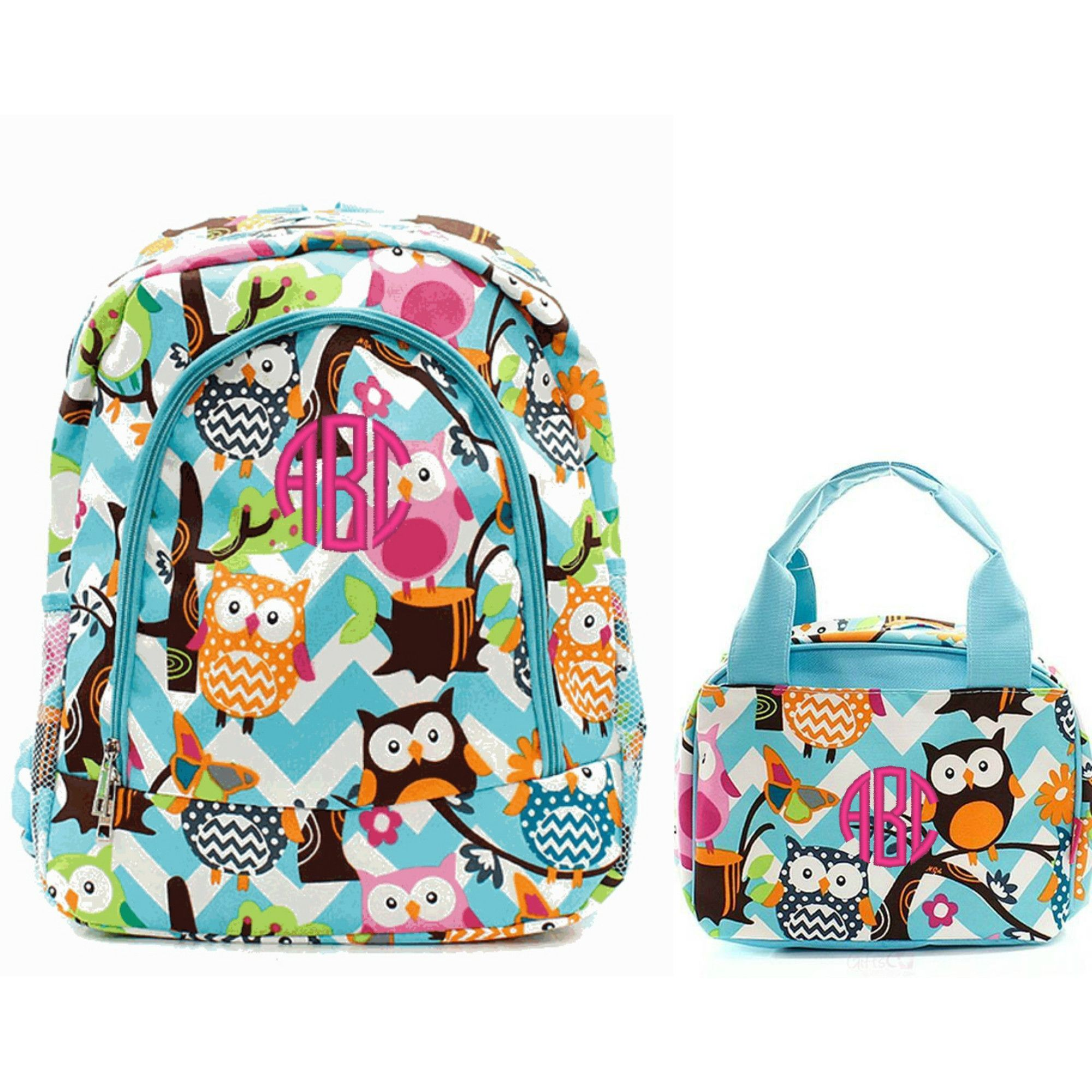 Personalized Matching Kids Backpack & Lunch Bag Set | Products ...
