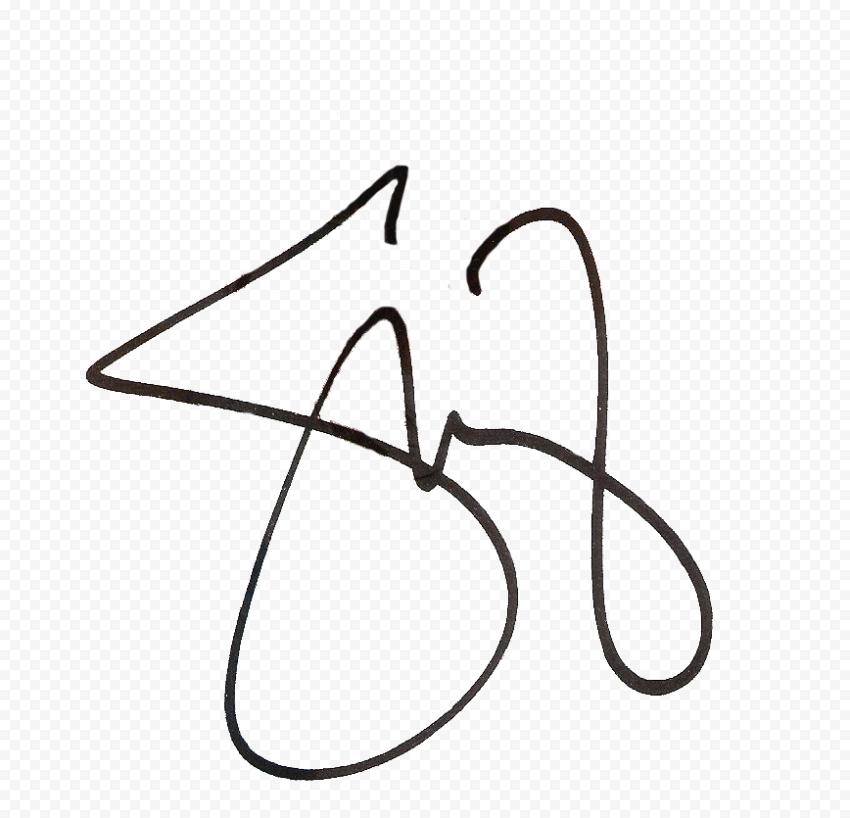 Selena Gomez Signature Hd Transparent Selena Gomez Selena Transparent