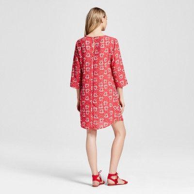 Women S Printed Floral Sheath Dress Flora By Rockflowerpaper