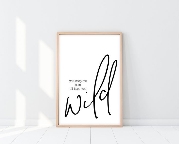 You Keep Me Safe I'll Keep You Wild | Birthday Gift For Boyfriend images