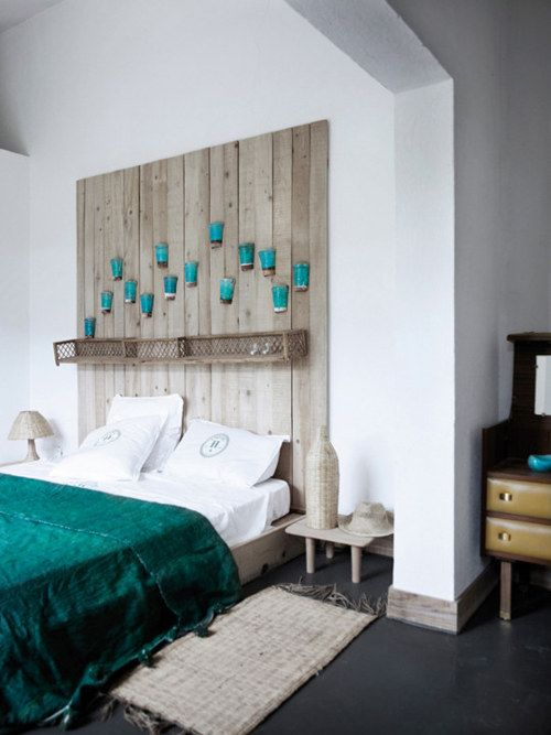 Teal Turquoise White Bedroom I D Love To See A Structure Like