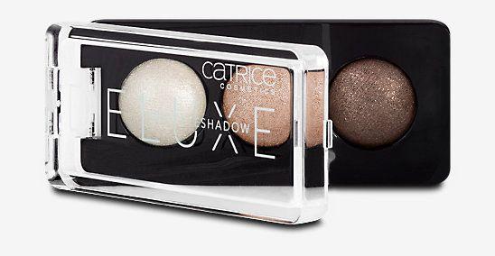 Catrice Cosmetics Deluxe Trio Lidschatten, braun, Lidschatten aus dem dm Online Shop.