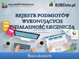 Ogłoszenie w serwisie TuDodam.pl: Rejestr Podmiotów Wykonujących Działalność Leczniczą