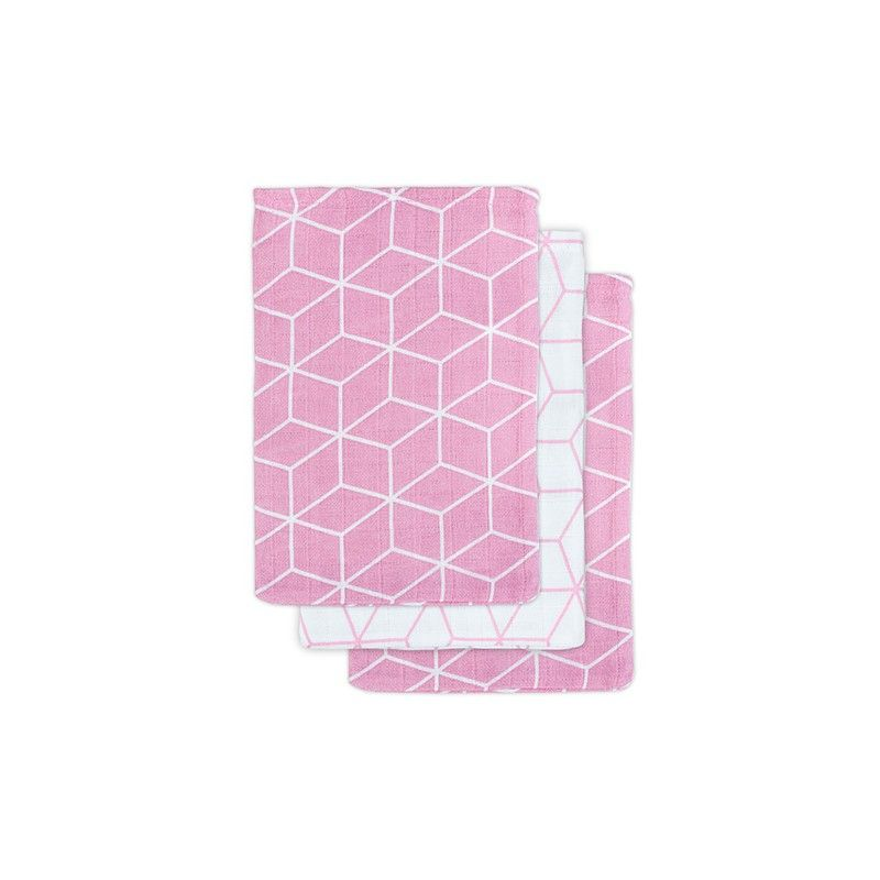 34c06a0736d JOLLEIN WASHANDJES GRAPHIC PINK 3-PACK 3,95 € | OLIVE & MINT SHOP ...