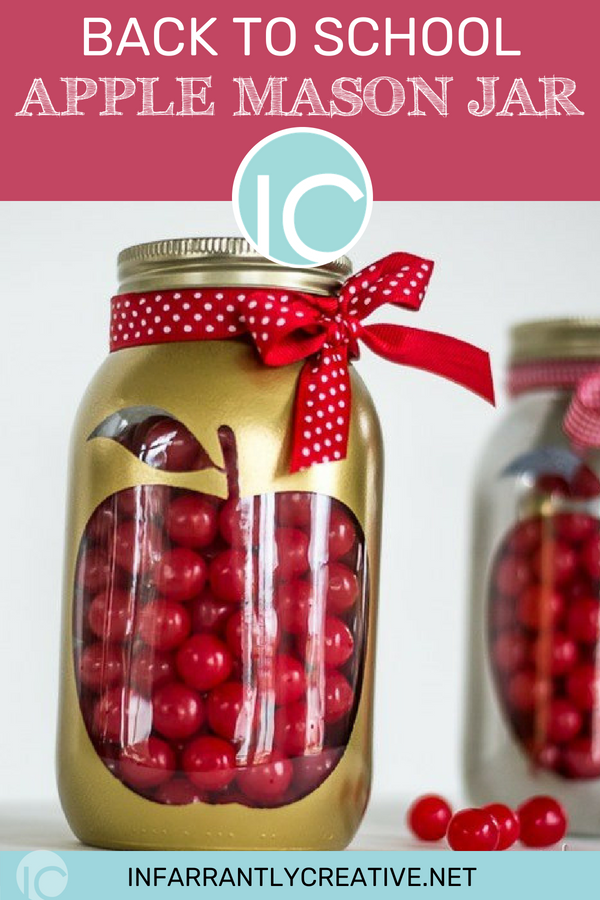 Back to school apple mason jar pinterest start back to school with this easy diy teacher gift backtoschool school negle Gallery