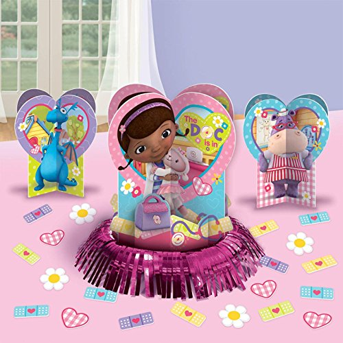 Free 2 Day Shipping Buy Doc Mcstuffins Party Table Decorations At Walmart Com Doc Mcstuffins Party Doc Mcstuffins Birthday Party Doc Mcstuffins Party Supplies