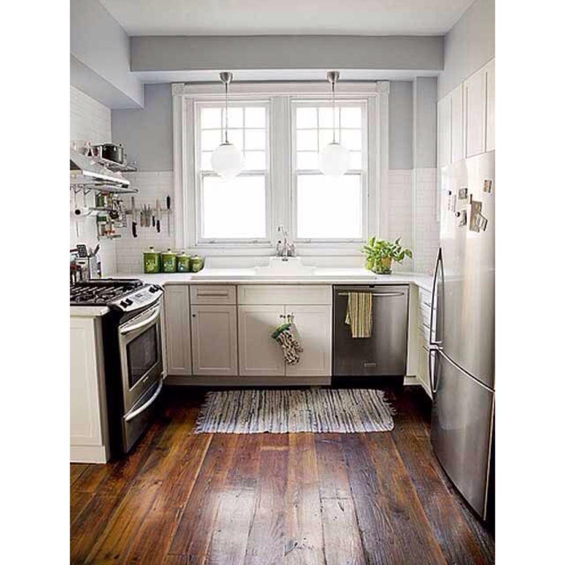 Small kitchen | Ahorrar espacios. | Pinterest | Cocina nueva ...