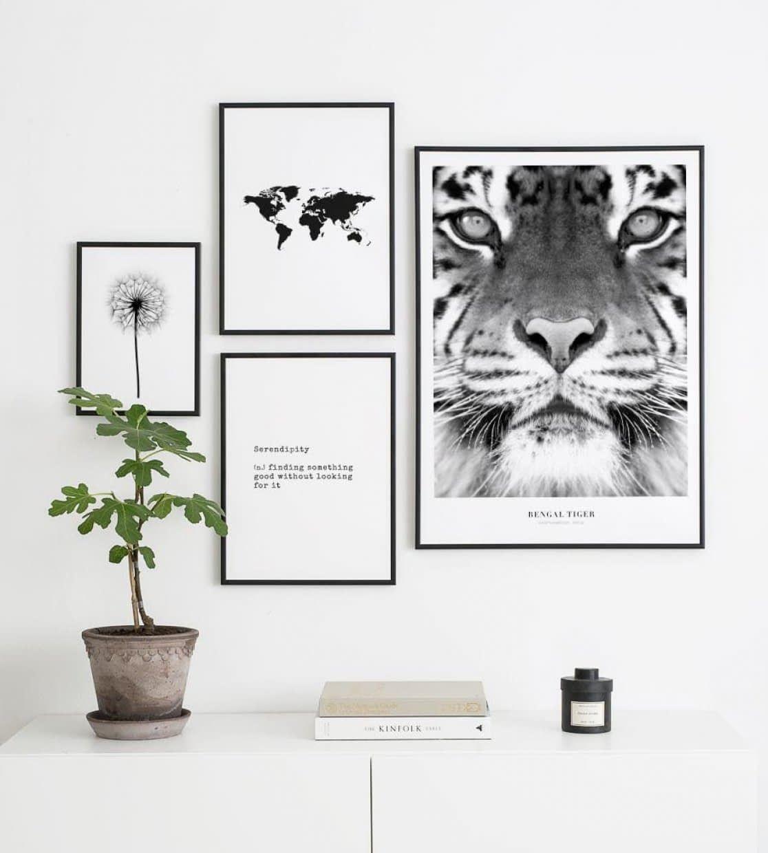 Inspiration - Photos & Idées de Décorations Murales - Posterstore.fr #wanddekowohnzimmer