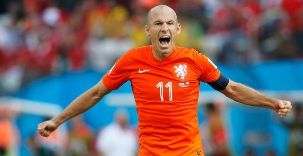 Man of the match again arjen robben tijdens nederland chili man of the match again arjen robben tijdens nederland chili wk2014 voltagebd Images
