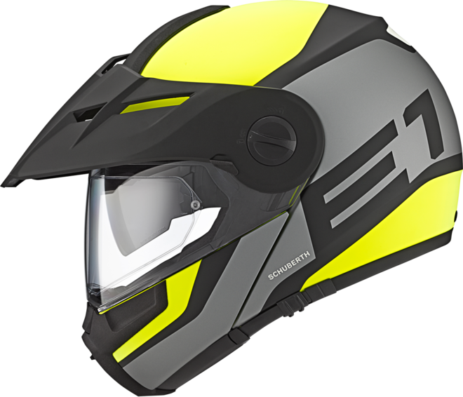 Helmet Flip-UP Off-Road Schuberth Guardian Yellow