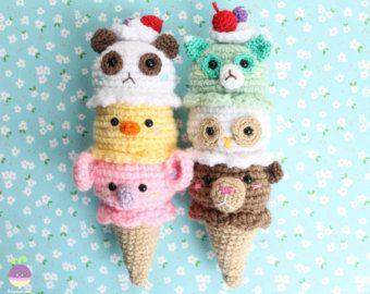 Sushi Crochet Pattern - Amigurumi Food - Ami Amour   270x340