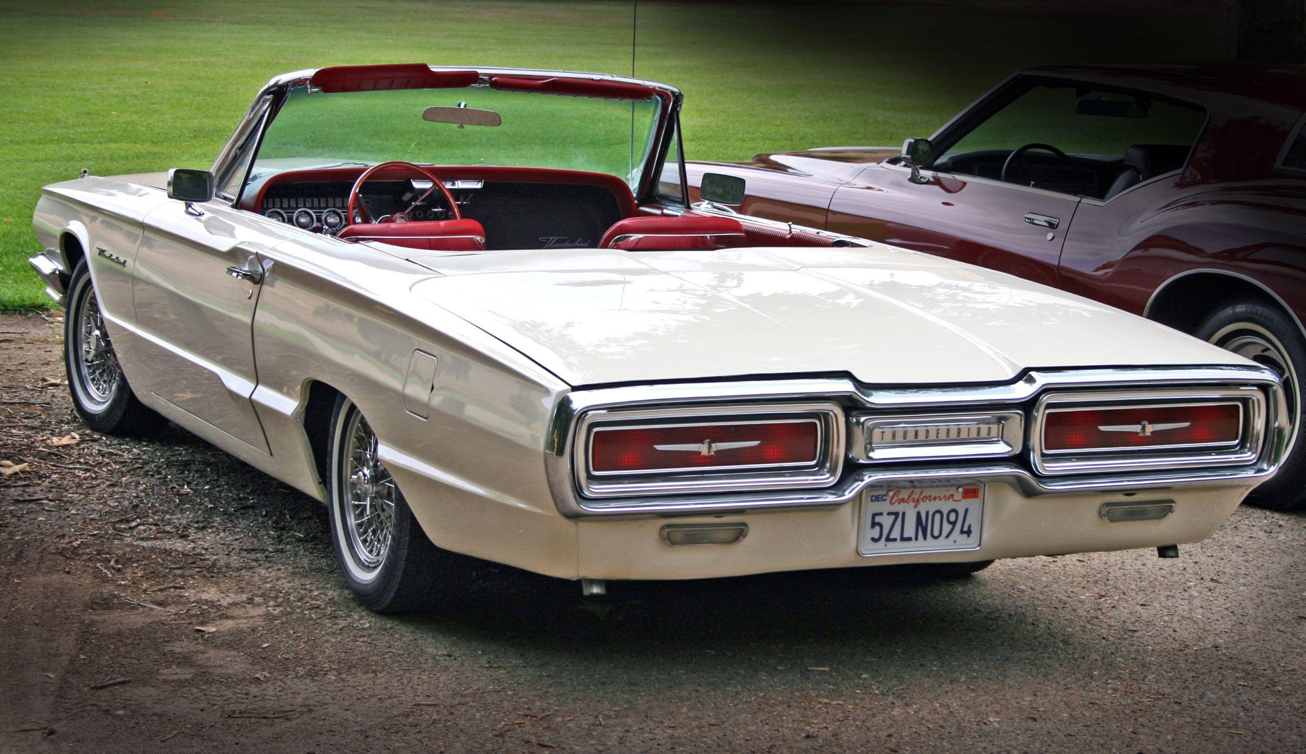 1964 Ford Thunderbird Ford Thunderbird Vintage Cars Classic Cars Vintage