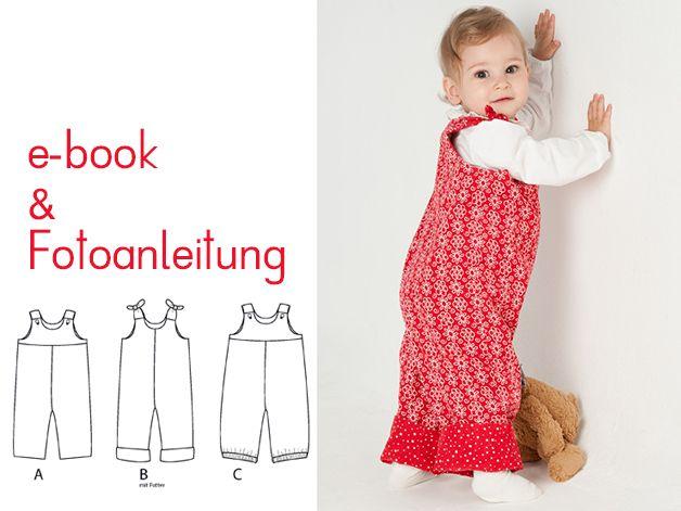 Overall für Junge oder Mädchen Modell Lilli&Bo von pattern4kids auf DaWanda.com