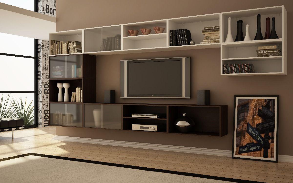 Prateleira para sala 5 salon pinterest prateleiras para sala prateleiras e salas - Armarios para sala de estar ...