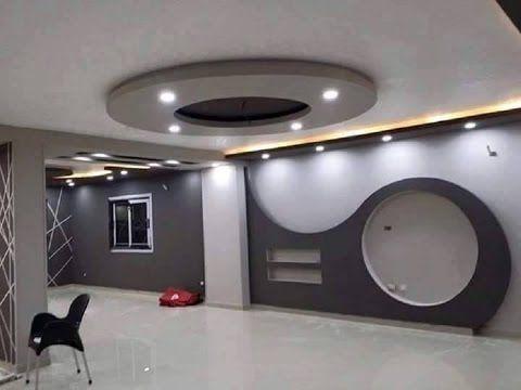 احدث ديكورات جبس بورد 2017 X2f 2018 Youtube Lcd Wall Design Tv Wall Design Bathroom Design Decor