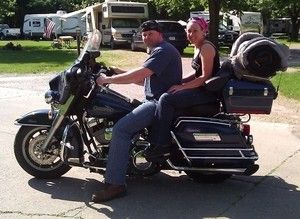 Motocycle Camping Biker Babe All About Camping Gear Com