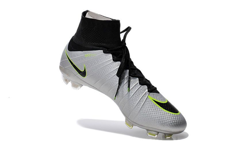 0435c5225 Sale Nike Mercurial Superfly FG Firm Ground Silver Black Green $107.99.  Find this Pin and more on Nike Soccer Cleats Los Angeles ...