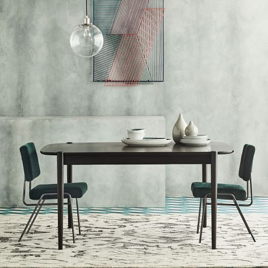 799 Ellipse Expandable Dining Table West Elm Dimensions Overall Product Dimensions With Tw Modern Dining Table Expandable Dining Table Dining Room Design