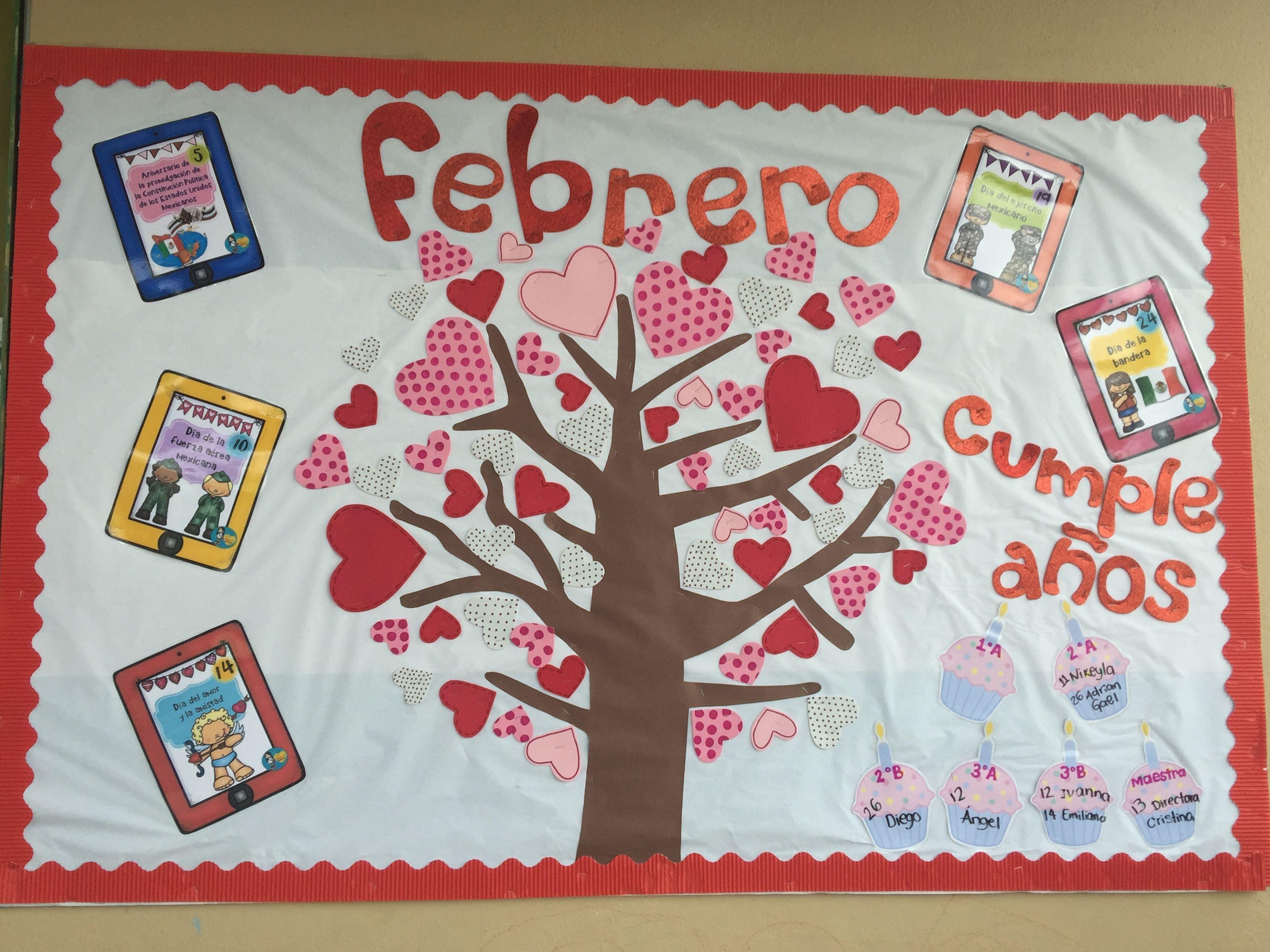 Periódico Mural Febrero Periodico
