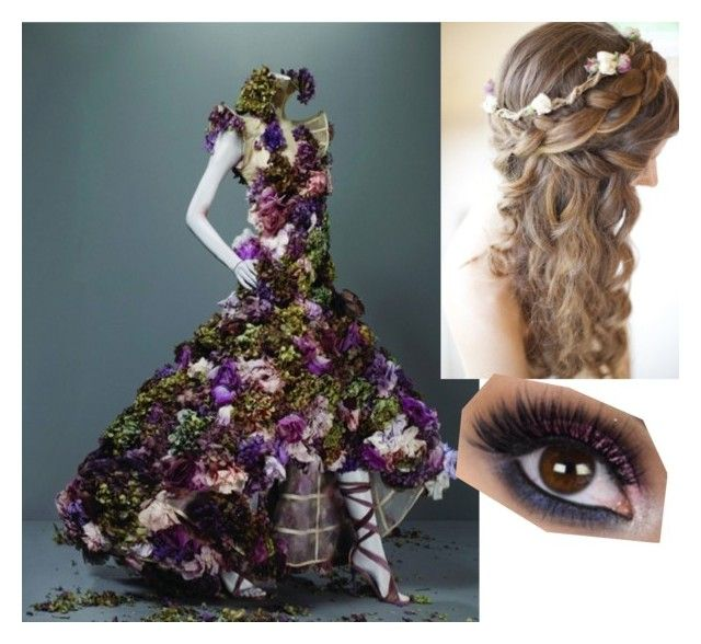 """""""flower dress"""" by brewillow on Polyvore featuring women's clothing, women's fashion, women, female, woman, misses and juniors"""