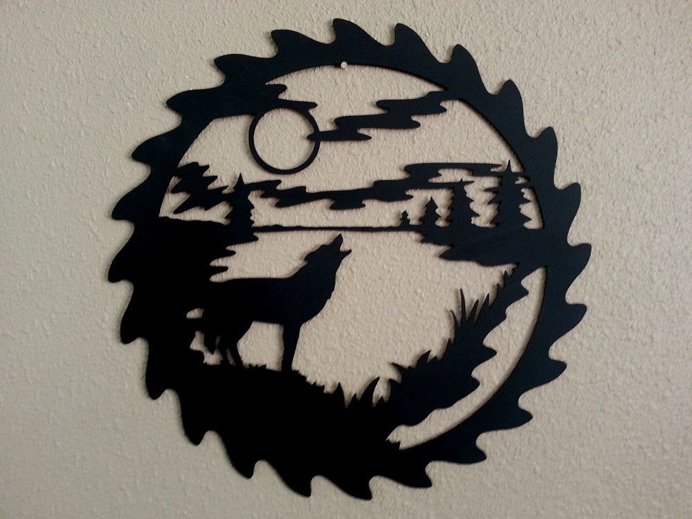 """Indoor//Outdoor 18/"""" Wide WOLVES Street Sign wolf collectible decor howl signs"""