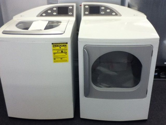 washer dryer ge profile combo GE Harmony Washer and Dryer Pair