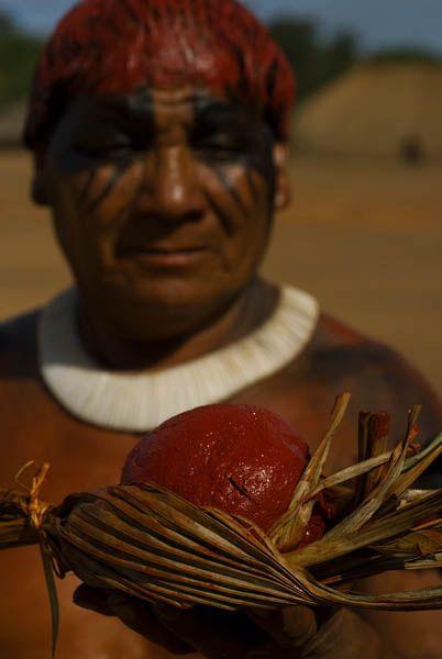 Xingu region brazilian indian intura corporal indigena - Google Search