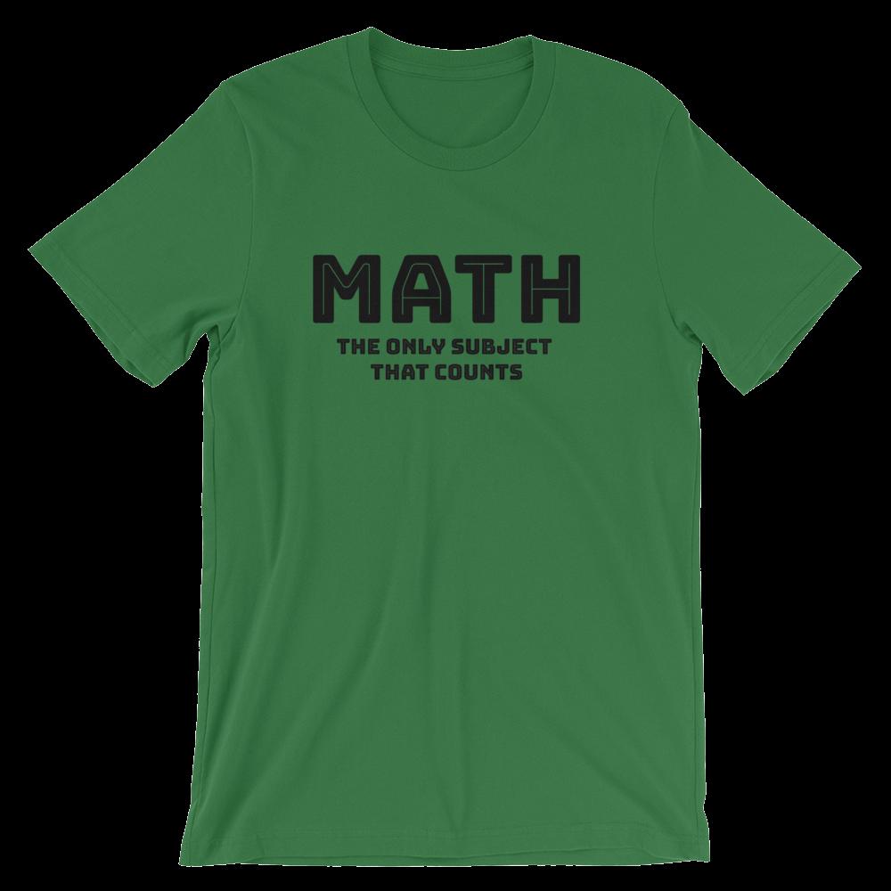 e9fc428b94 Math Pun Shirt for Math Teachers Short-Sleeve Unisex T-Shirt ...