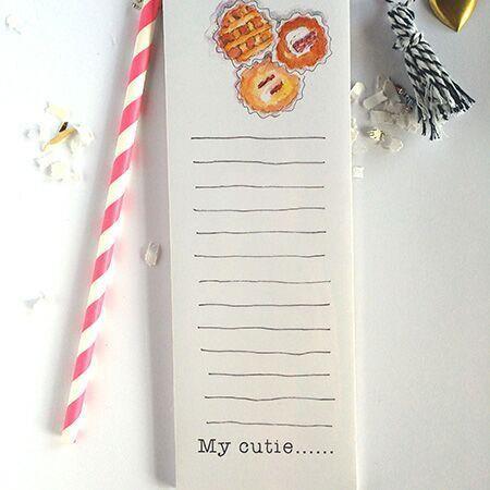 Cutie Pie Notepad