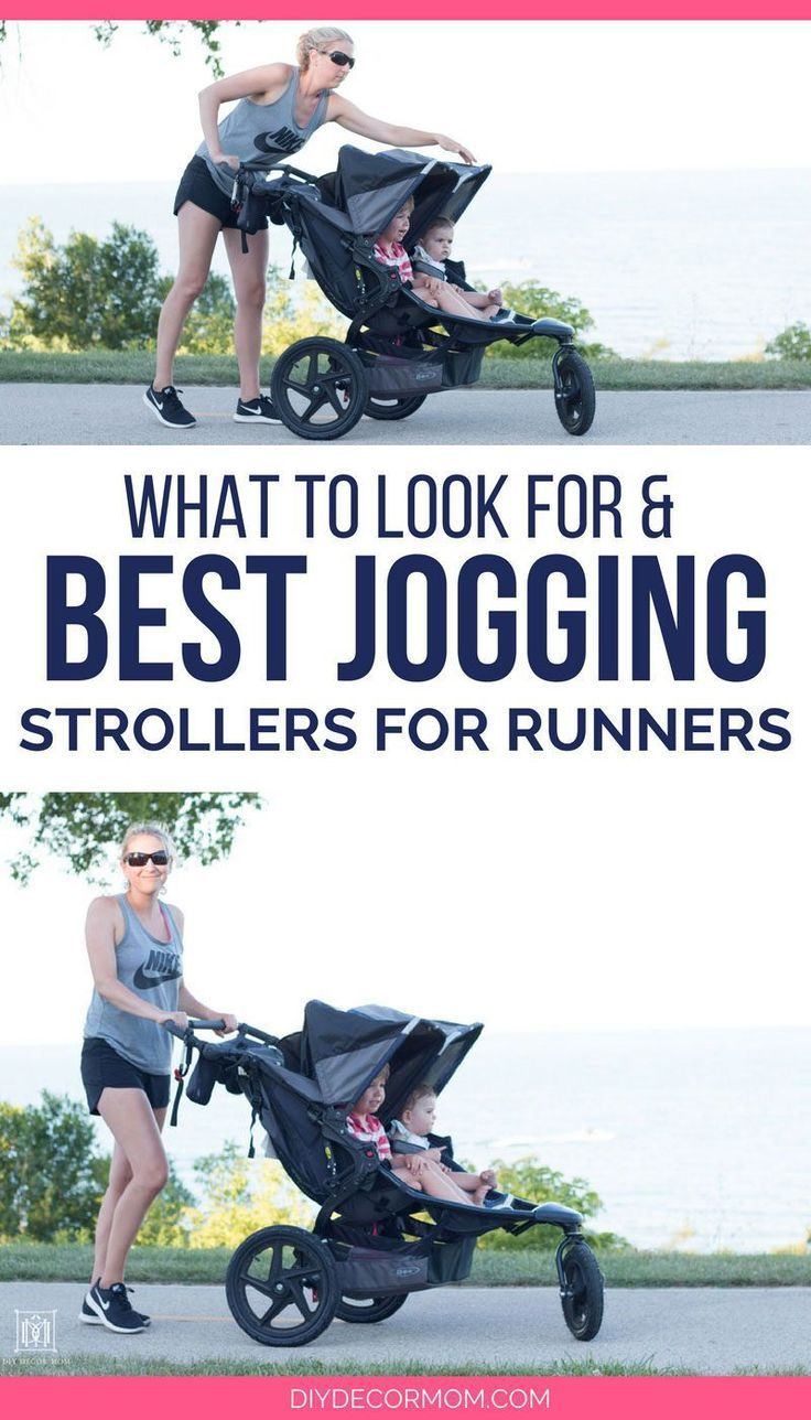 looking for a jogging stroller for your new baby? see the