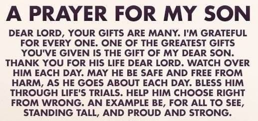 I was blessed with a son. A prayer for my son.. | Prayer and ...