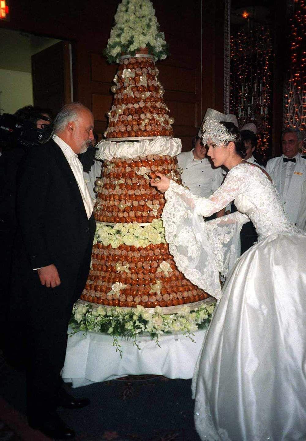 Celine Dion Et Rene Angelil Celine Dion Wedding Celebrity Wedding Photos Celine Dion