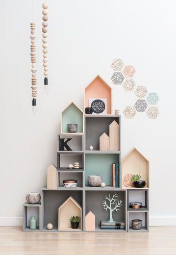 2 Estanterías Casas De Madera | Mdf Decor | Pinterest | Wanddeko,  Kinderzimmer Und Kinderzimmer Deko
