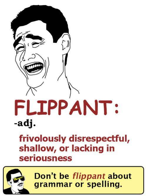 Lovely Flippant Definition   Google Search