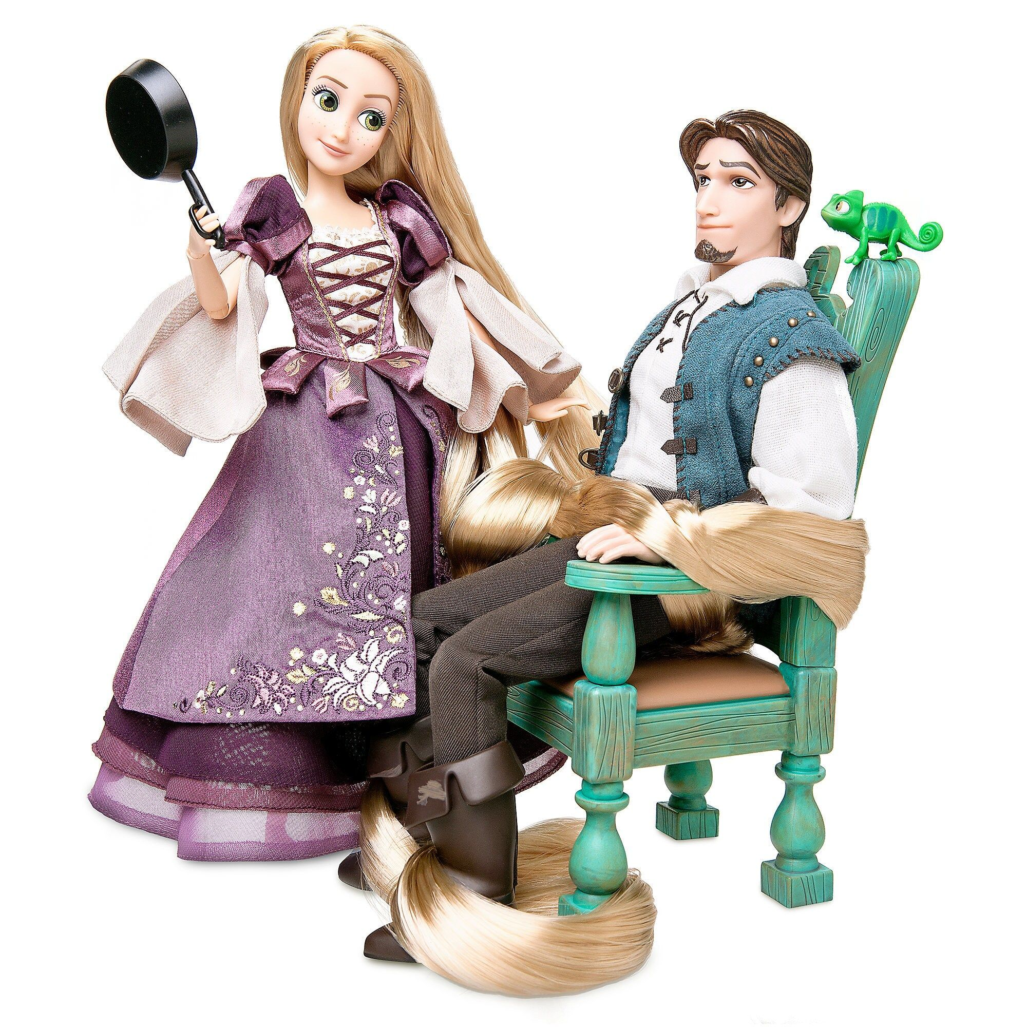 Rapunzel And Flynn Doll Set Disney Designer Fairytale Collection Limited Edition Shopdisney In 2020 Disney Rapunzel Doll Sets Disney Princess Dolls