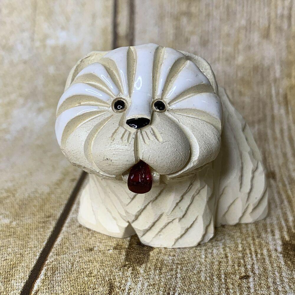 Artesania Rinconada Westie Terrier Dog Figurine Vintage 80s West Highland With Images Westie Terrier Terrier Dogs Dog Figurines