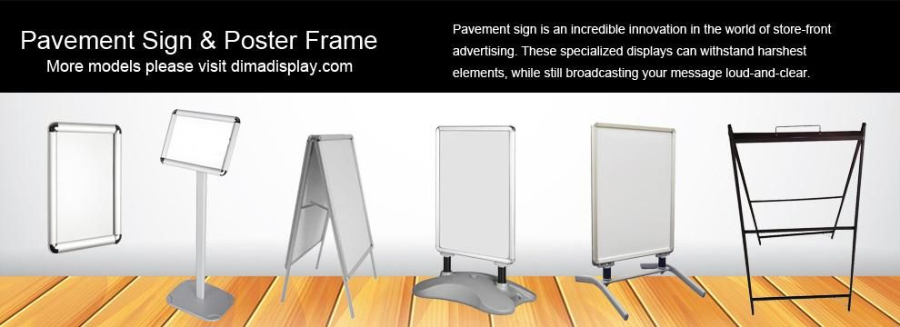 Pavement Sign & Poster Frame - Pavement sign is an incredible ...