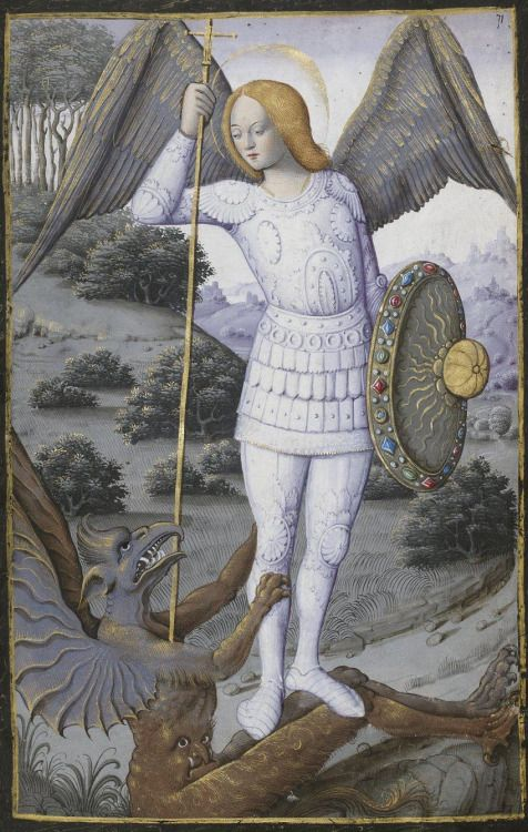 Bibliothèque nationale de France, Latin 1171, f. 71r. Book of Hours, use of Rome. 16th century
