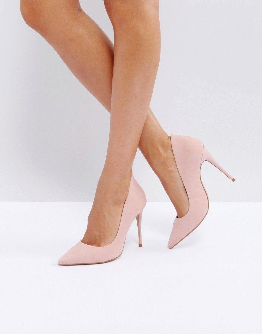 ALDO Cassedy Blush Point Court Shoes