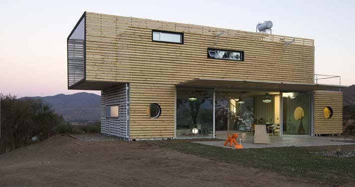 Casas construidas con contenedores marítimos | konteyner evler ...