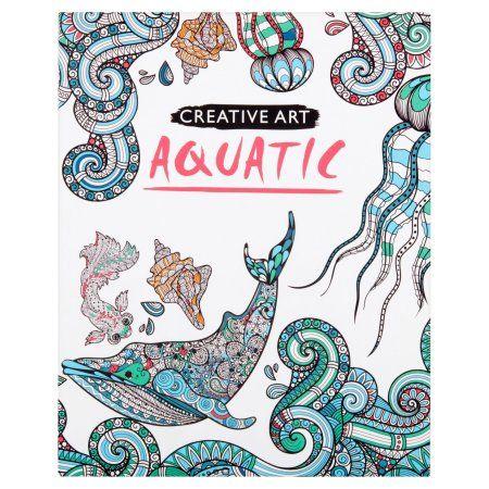 Aquatic Coloring Book
