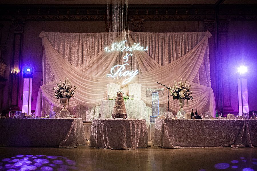 chair cover rentals windsor ontario white outdoor dining australia beautiful swarovski crystal throne chairs and led podium by modish lounge in