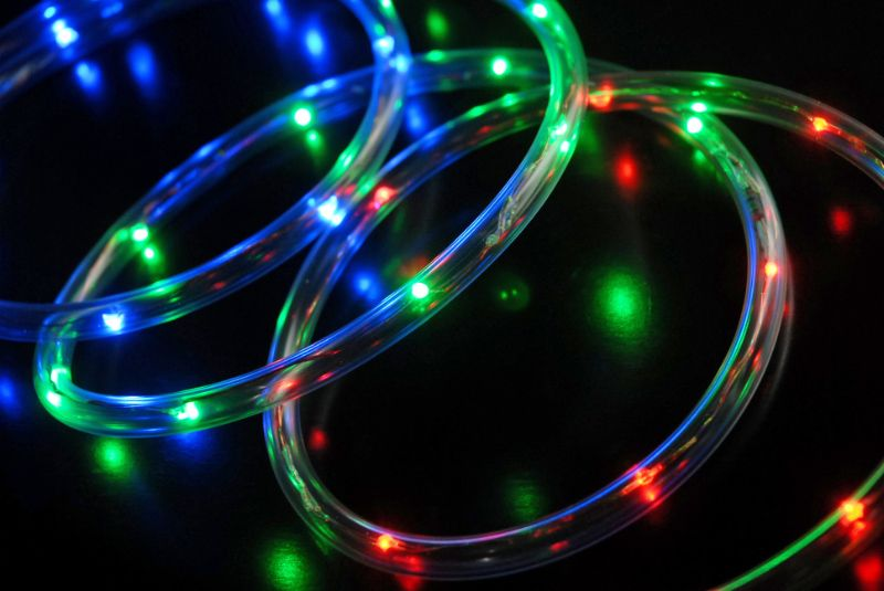 Led submersible rope light 30 rgb battery operated 6 feet battery 6 multi color waterproof battery operated led tube lights 9 each 6 for 859 aloadofball Images