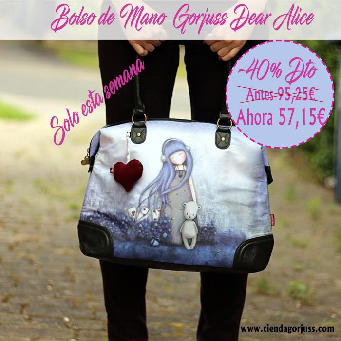Gorjuss Dear Alice Bolso de Mano