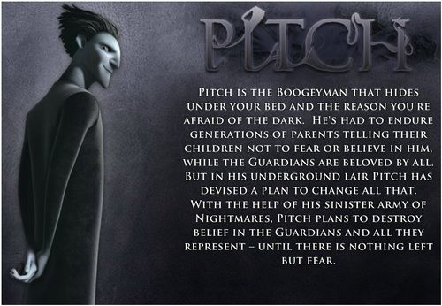 *PITCH BLACK ~ Rise of the Guardians, 2012