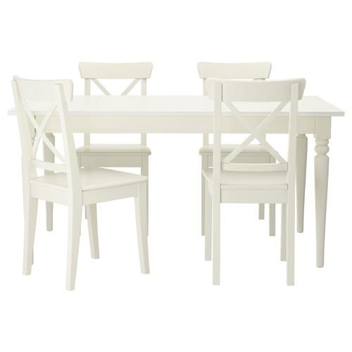Ikea Extending Table 4 Chairs