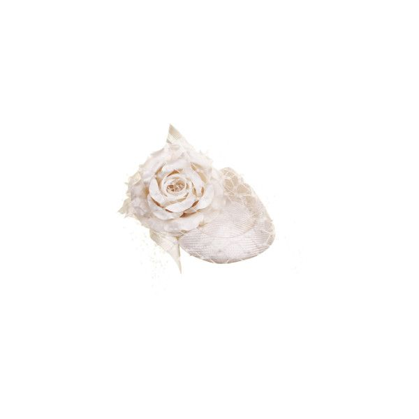Philip Treacy London Antique Rose (€1.280) ❤ liked on Polyvore featuring hats