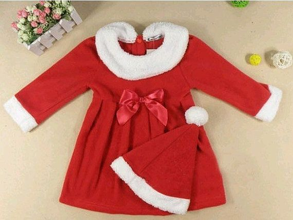 Girls Christmas Dress Red from lovely tutu by DaWanda