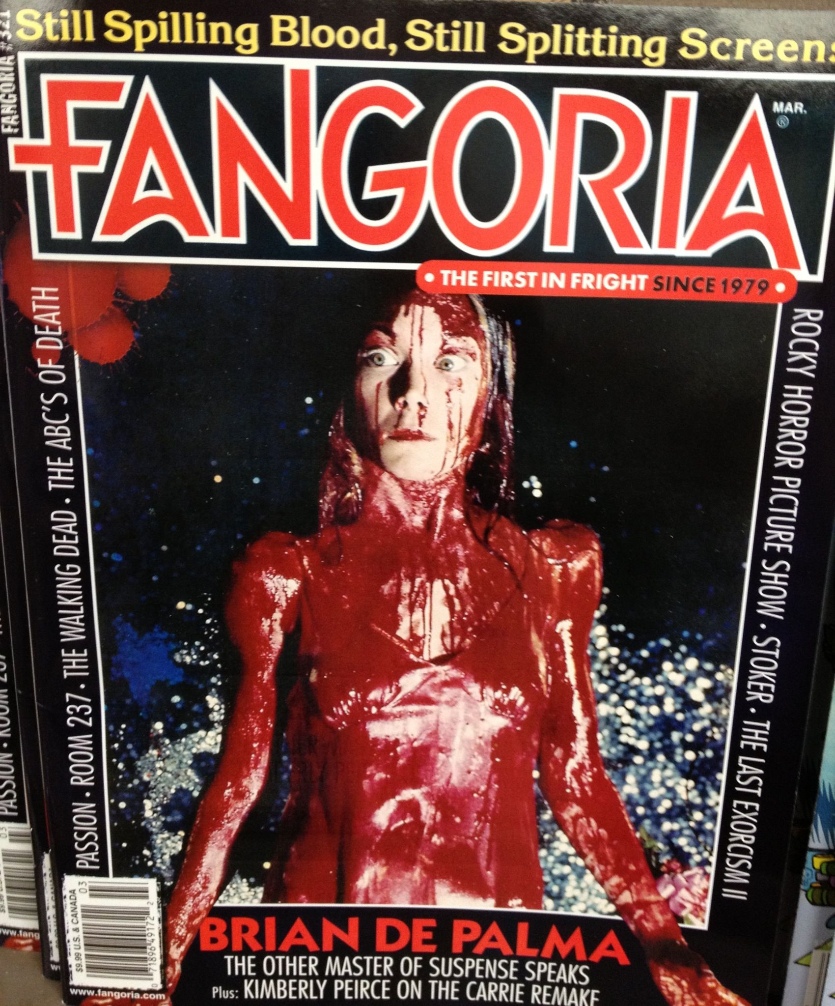 Fangoria Magazine. I Read This In The Bookstore. Did Not