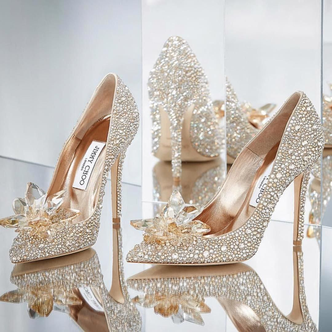 Cinderella wedding shoes, Bling shoes